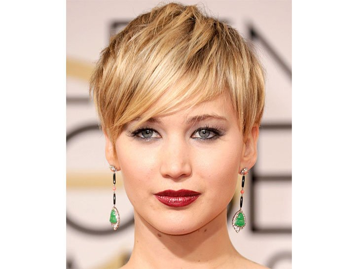 jennifer lawrence pixie cut