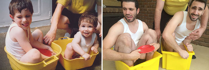 hilarious-people-who-flawlessly-recreated-their-childhood-photos_16